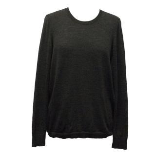 J Brand Grey Knit Sweater