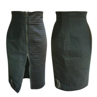 Balmain highwaist patchwork skirt