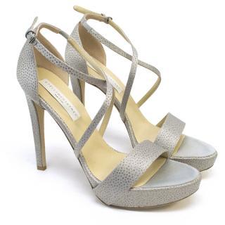 Stella McCartney Lavender Sparkle Heels
