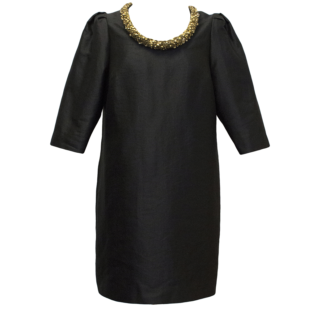 Mulberry Black Dress