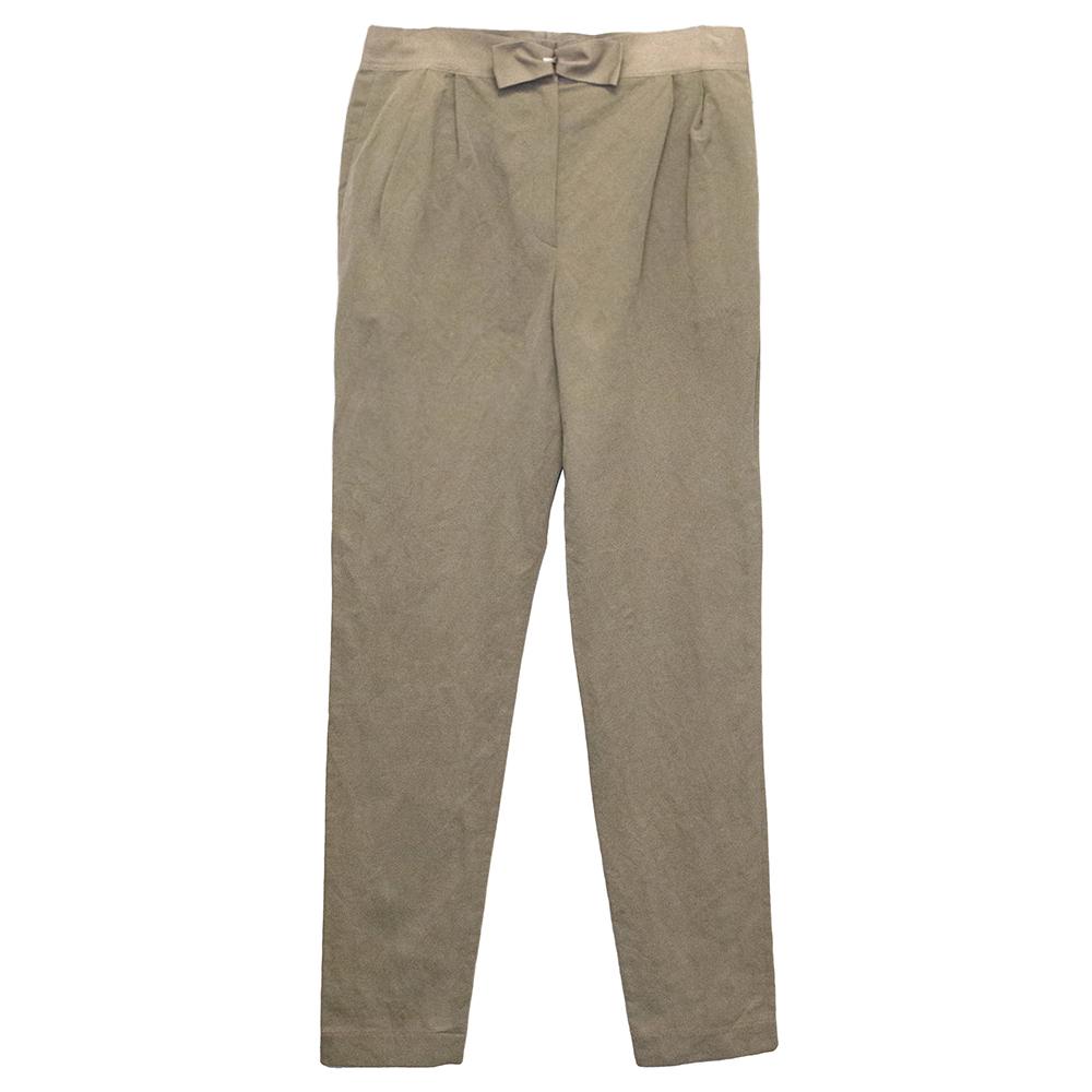 Lanvin Beige Trousers