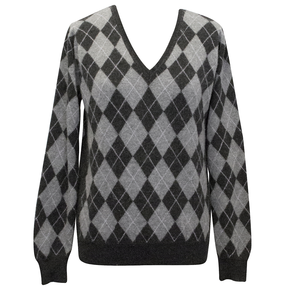 Pringle of Scotland Grey Cashmere Sweater