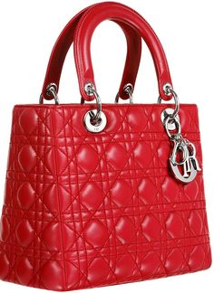 Lady Dior Red Bag