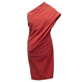 Lanvin Coral Dress