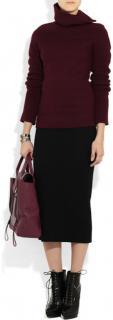Haider Ackermann burgundy jumper