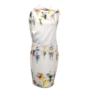 Roland Mouret Printed Top and Skirt