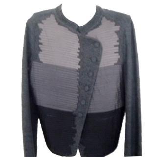 Emporio Armani wool and silk jacket