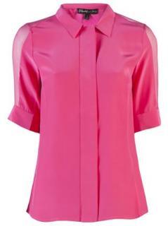 Elizabeth & James silk blouse