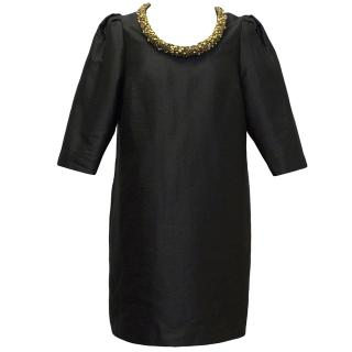 Mulberry Black Dress