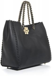 Mulberry Cecily flower lock tote bag