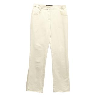 Louis Vuitton Cream Trousers