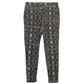 Tart Snake Print Trousers