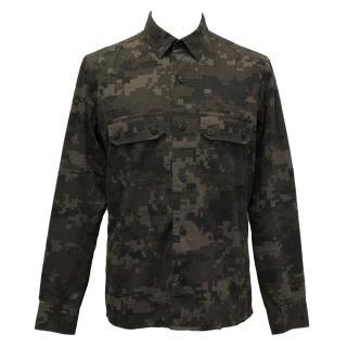 J. Linderberg Brown Camouflage Shirt