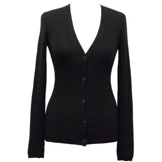 Prada Black Cardigan