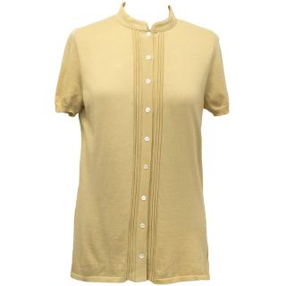 Loro Piana Mustard Yellow Top