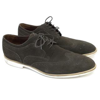 Hugo Boss Suede Brogues