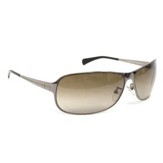 Police Gun Metal Sunglasses