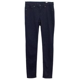 Rag & Bone Navy Blue Jean Leggings