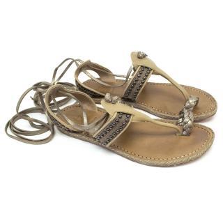 Christian Louboutin Beige Sandals