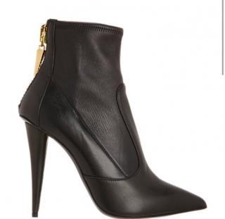 New Guiseppe Zanotti Napa Stretch Ankle Boot
