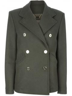 Pierre Balmain Double Breasted Wool Jacket in Size 12 UK