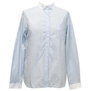 Steven Alan light blue shirt
