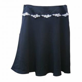 Ronit Zilkha skirt flower guipure detail
