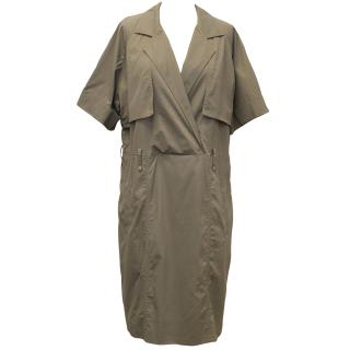 Lela Rose Taupe Dress