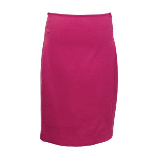 Calvin Klein Fuchsia Pink Pencil Skirt