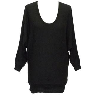 Joseph Black Wool Cardigan