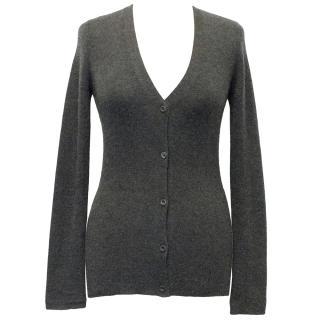 Prada Grey Knit Cardigan