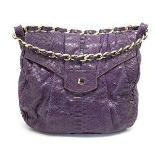 Zagliani Purple  handbag