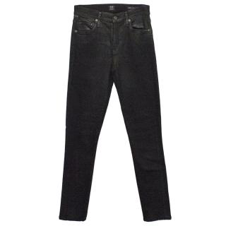 Citizens of humanity Black and Silver Jeans