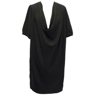 Paul and Joe Black Draped Dress
