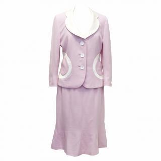 Pallas Pink Skirt Suit