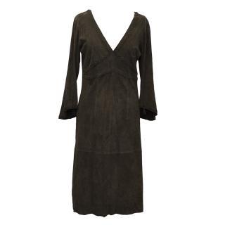 Tania Suede Dress