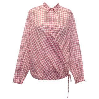 Niu Pink Printed Top