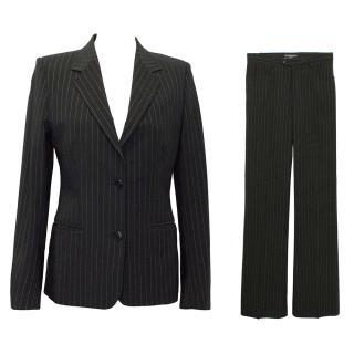Joseph Chalk Stripe Trouser Suit