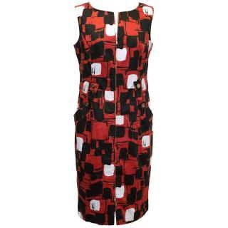 Carlisle Red and Black Dress