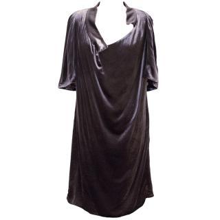 Vanessa Bruno Purple Velvet Dress
