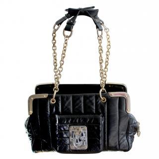 LUELLA Black and Gold Bag