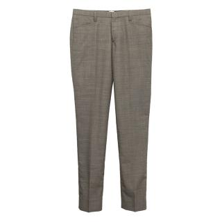 J. Lindeberg Grey Wool Trousers
