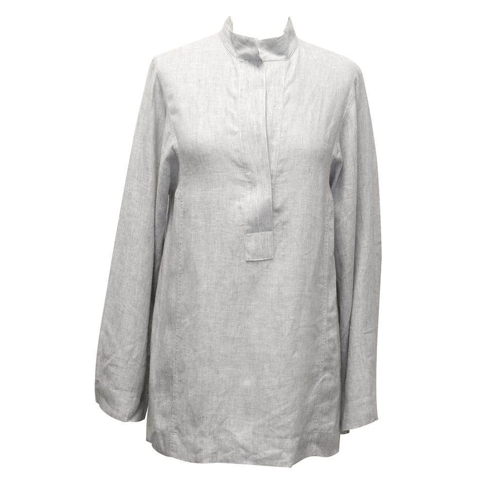 Amanda Wakeley Grey Linen Tunic