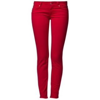 7 For All Mankind raspberry Gwenevere jeans
