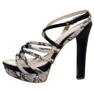 Versace jeans sandals