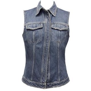 Dolce & Gabbana Denim Vest Jacket