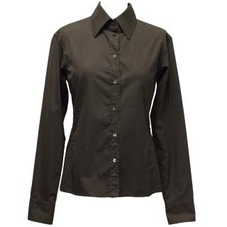 YSL Brown shirt