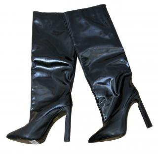 Jimmy Choo, Shiny Leather and Calf Knee High Boots (RPP �1315)