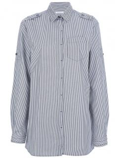 Pierre Balmain Long Sleeves Studded Shirt/Dress in size 40 (UK 8)