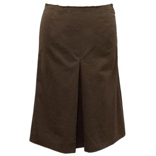 Prada Brown Skirt